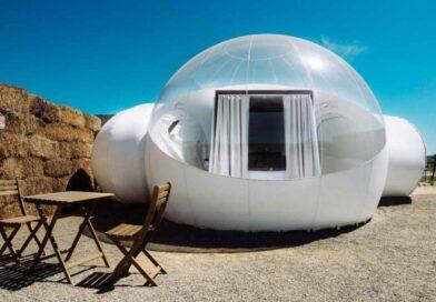 Un hotel de Baja California donde sus habitaciones son burbujas
