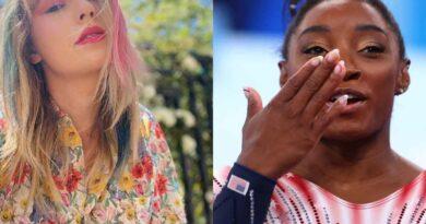 Taylor Swift hizo llorar a la gimnasta Simone Biles con emotivo homenaje