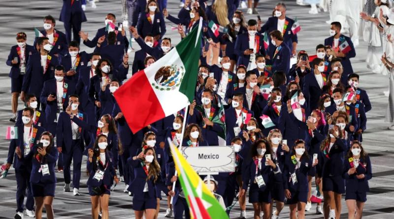 México, la delegación del ya merito en Tokio